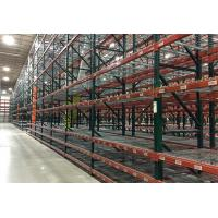China Heavy duty teardrop pallet racking warehouse storage system wholesale