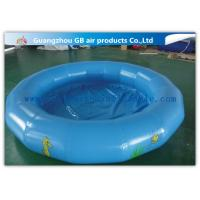 China Round Kids Inflatable Swimming Pool For Water Game Acceptable Logo Printing wholesale