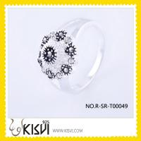 China fine gemstone jewelry silver ring jewellery  wholesale