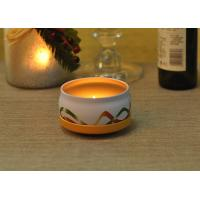 China Large Colored Tin Candle Holders Box Personalised For Home Fragrance wholesale