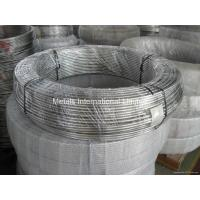 China ERW ASTM 316 Stainless Steel Coiled Tubing / Pipe for for cooling on sale