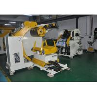Buy cheap Feeder Steel Coil Straightening Machines 3 In 1 NC Servo Decoiler 380V 15KW from wholesalers