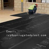 China PP corrugated sheet 2.5mm 3mm 4mm plastic sheet for floor protection on sale