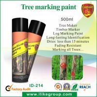 China High Reflective Tree Marker , Tree Marking Spray Paint Colors For Furniture on sale