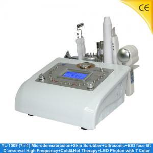 China High Frequency Diamond Microdermabrasion Machine BIO Face Lift , Photon Skin Rejuvenation YL-1009 wholesale