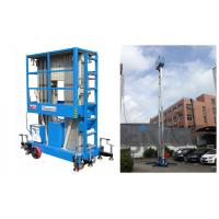 China Hydraulic Aluminum Work Platform For Outdoor Window Cleaning 12 Meter Working Height wholesale