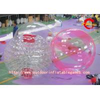 China Commercial Inflatable Zorb Ball , PVC Inflatable Floating Water Walking Ball wholesale