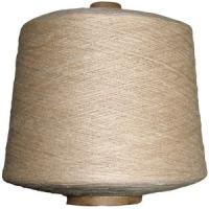 China 15Ne GOTS Certified Viscose Linen Blended Yarn Hand Knitting Weaving Thread Yarn wholesale