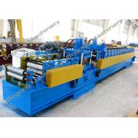 China Pre - Punching C Purlin Roll Forming Machine With Cr12 Steel Blade Heavy Duty wholesale