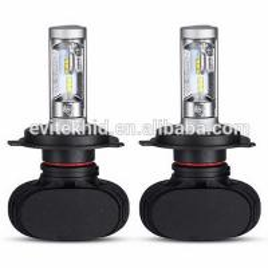 China Fanless 50W S1 Car LED Headlight Bulbs / H4 9003 LED Auto Headlight Kits wholesale