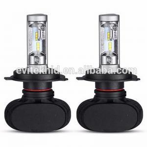 China Fanless CSP Led Headlight 50W S1 / H4 9003 LED Auto Headlight Kits wholesale