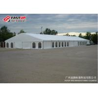 China Beautiful Garden Wedding Tent With Glass Double Wing Glass Door Long Life Span wholesale