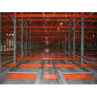 Warehouse steel rack push back pallet racking