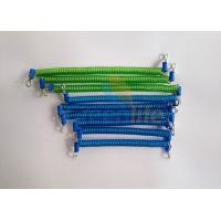 China Machinery Using Translucent Green/Blue Length 12/15CM Popular Safety Spring Tool's Tethers wholesale