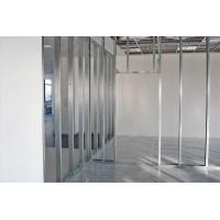 China Moisture Proof Steel Stud Partition , Metal Frame Stud Partitions Construction Materials wholesale