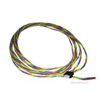 Rated Voltage 250V Twisting Wire Harness Assembly Current 3A PVC Insulation