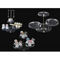 China Acrylic magazine display , clear round acrylic accessories display wholesale
