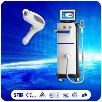 China Safe And Fast Treatment 808nm Diode Laser Hair Removal Machine For All Types Skin wholesale