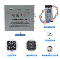 Buy cheap Smart Control Sauna Steam Generator With Auto Time & Temperature Cut-off System from wholesalers
