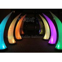 China Night Decorative Inflatable Horn Remote Control Inflatable Light Ivory wholesale