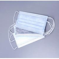 Buy cheap Surgical Disposable Medical Consumables 3 Ply Non Woven Face Mask With Ear Loop from wholesalers
