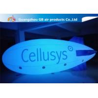China Safe And Environment Inflatable Helium Airplane , Inflatable Zeppelin Balloon wholesale