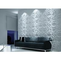 China Colored Vinyl 3D Decorative Wall Panels wholesale