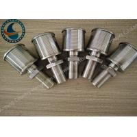 China Single Johnson Screens Products Water Filter Nozzle High Filtering Performance on sale