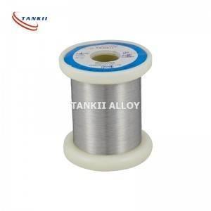 China Bright Resistance Nichrome Wire Nicr6015 Alloy Anti Corrosion wholesale