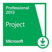 Quality PC Software Microsoft Office Project 2013 Pro 64 Bit Instant Download for sale