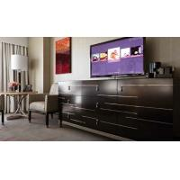 Quality Metal Wooden Luxury Hotel Bedroom Furniture Sets , Modern Hospitality Furniture for sale