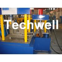 China Manual, Hydraulic Decoiler U Section Roll Forming Machine for Steel U Channel wholesale