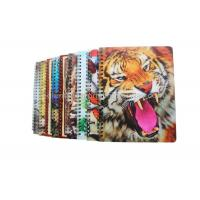 Quality Mini Custom Lenticular Printing Notebooks PET Cover Note Pad 12x8cm for sale