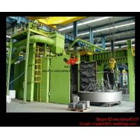 China H beam Production Line Shot Blasting Machines for Rust Removing And Polishing of Surface wholesale