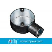 China BS Electrical Conduit Fittings Circular Junction Box For Conduit Fittings wholesale