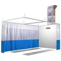 China Small Infrared Paint Spray Booth Prep Stations , Car Painting Preparation Station wholesale