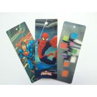 China PET 3D Lenticular Personalized Book Marks With CMYK Printing 0.65 mm Thick wholesale