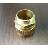 China Golden Color Brass Connector Nickle Plated or None 38mm , 50 mm Size wholesale