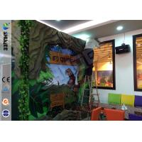 Quality Stimulating Thriller 6D Movie Theater With Lightning / Rain Digital Special for sale