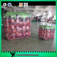 China Inflatable Advertising Balloons / Inflatable Red Cube ball / Inflatable Square Helium With wholesale