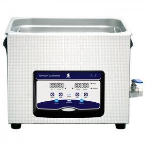 Large Sensitive Benchtop Ultrasonic Cleaner , Ultrasonic Bath Cleaner 15L Capacity