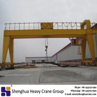 China China rail mounted double girder gantry crane 20 ton 30 ton 50 ton price with ISO certificate wholesale