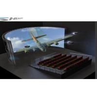 China 5D Simulation Rider Cinema, Moive Simulator System With Bubble, Rain,Wind Special Effect wholesale