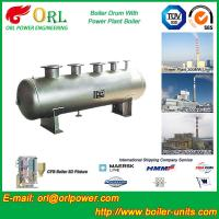 China Low Pressure Alloy steel drum Boiler Mud Drum TUV with 10~1000ton wholesale