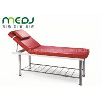 Quality Manual Hospital Exam Table Simple Type MJSD07-04 With Soft PU Matress for sale