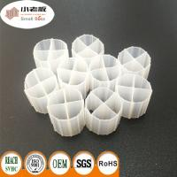 China HIPS White Color Plastic Bio Media , Moving Bed Biofilter 12*9mm Size wholesale