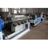 China PE Carbon Plastic Spiral Pipe Extrusion Line , Hard Plastic Pipes Extruder 0.6 - 1.5 M/Min on sale