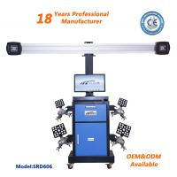 China SRD606  Blue Color Auto Repairing Machine 3D Wheel Alignment Machine Price Garage Tyre Aligner on sale