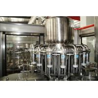 China Plastic Bottle Hot Filling Machine 3 In 1 For Fruit Juice Processing wholesale