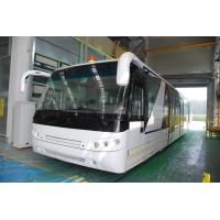 China Aluminium Body 24 Seat Airport Shuttle Buses , 4 Stroke Diesel Engine Bus wholesale